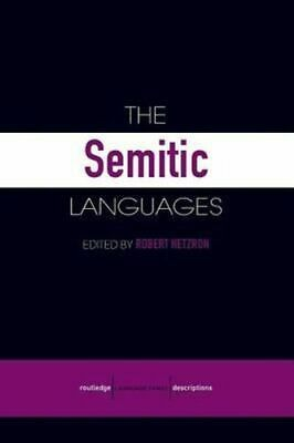 NEW The Semitic Languages By Robert Hetzron Paperback Free Shipping