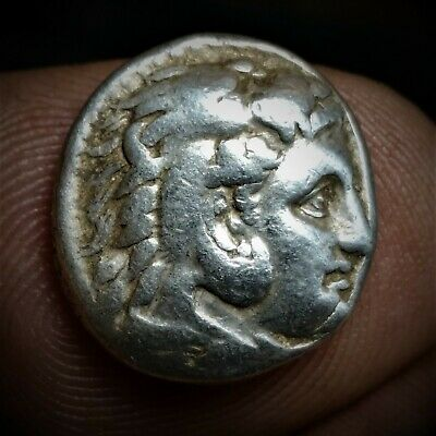 Rare Life time issue Alexander III, the Great, 336-323 BC. AR Drachm