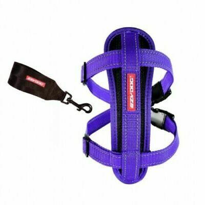 EZYDOG Chest Plate Harness With Free Seat Belt Loop  XL