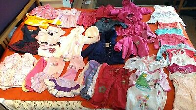 Baby Girl Large Clothes Bundle 9-12 months