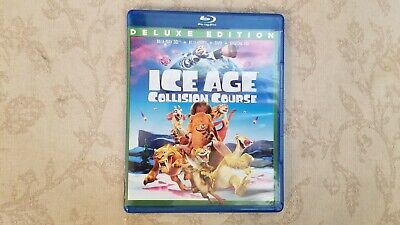 Ice Age: Collision Course (3D Blu-ray, 2016)