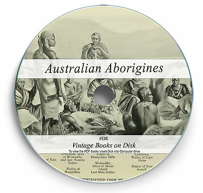 140 Rare Australian Aborigine Books on DVD Tribes Traditions Languages Legend D8