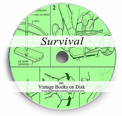 Rare Books on DVD Learn Wilderness Survival Bushcraft Camping Trapping Skills 42