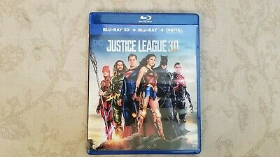 Justice League (3D Blu-ray, 2018)