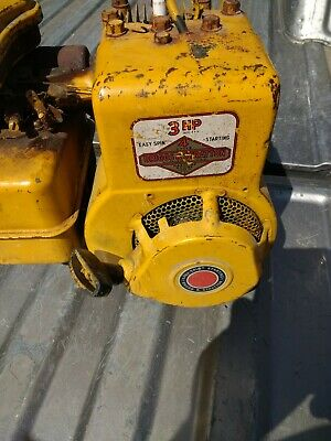 Vintage Briggs And Stratton 3 Hp Recoil Starter And Cover