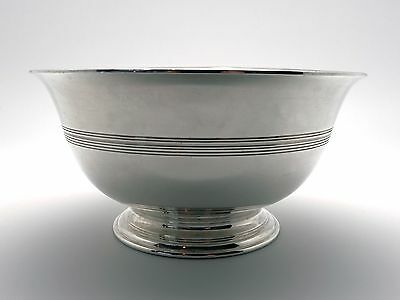 Tiffany & Co Makers Sterling Silver Footed Candy Nut Bowl 8243