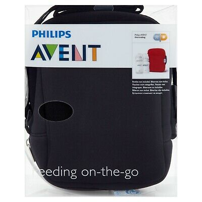 Philips Avent Feeding On The Go Therma Bag | Red and Sky Blue | Chemist 2 Custom