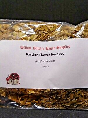 Passion Flower c/s Herb 1 ounce Witchcraft Wicca Hoodoo Voodoo Grandilla Maypops
