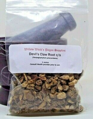 Devil's Claw Root c/s 1 ounce Wicca Hoodoo Voodoo Witchcraft Pagan Supplies