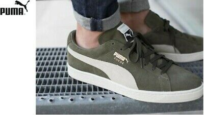 sneakers for cheap 468af dc72a PUMA SUEDE CLASSIC + Olive Night-Birch Men's US 8.5