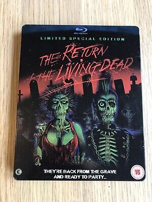 Blu-ray DVD Steelbook The Return Of The Living Dead Limited Special Edition