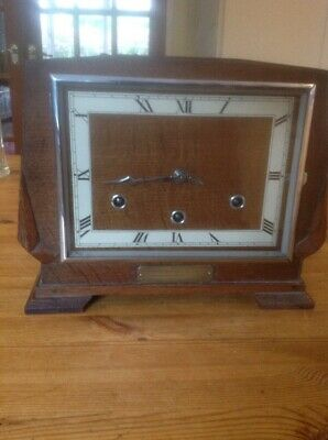 Large Art Deco Mantle Clock