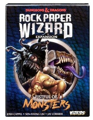 Dungeons & Dragons: Rock Paper Wizard - Fistful of Monsters Board Game Expansion