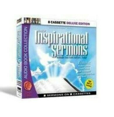 †audio Book:rare Christian Inspirational Sermons On 8 Cassette Tapes Audiobook!☆