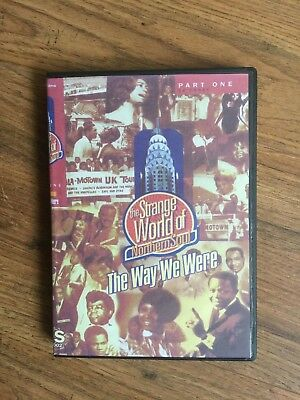 THE STRANGE WORLD OF NORTHERN SOUL - THE WAY WE WERE - 3 DVDs + MUSIC CD