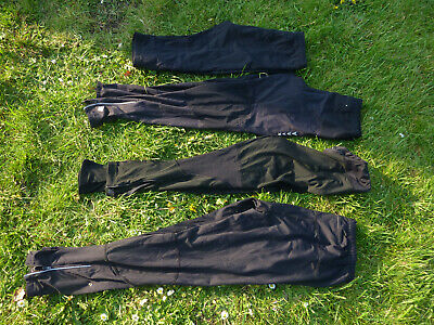 4 pairs of Ronhill Running leggings Full length and cropped.Sizes 14, 16 & Large