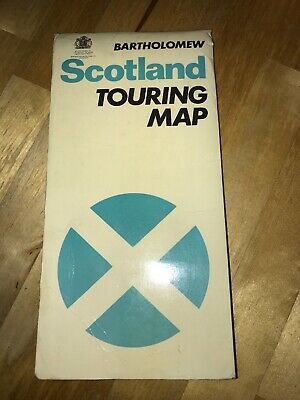 Bartholomew's  Scotland Touring Map  paper 1977