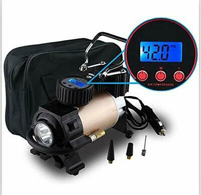 Auto Car Tire Inflator Air Pump Compressor Electric Portable 120 PSI LCD Display
