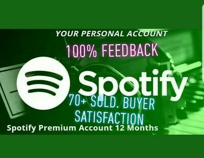 Spotify Premium|Lifetime Subscription|International|Music|UPGRADE YOUR ACCOUNT