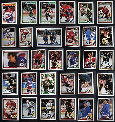 1991-92 Topps Hockey Cards Complete Your Set Pick From List 1-200