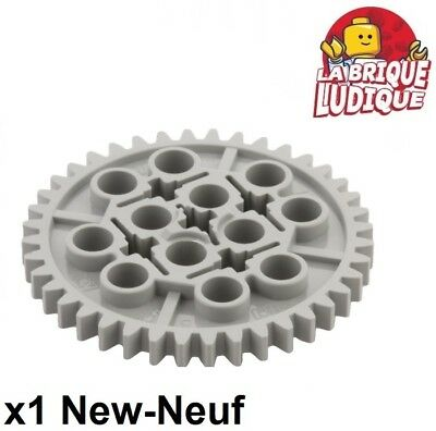 Lego Technic Mindstorms Gear Speed Reducers x 2 1:24 Light Bluish Grey Red NEW