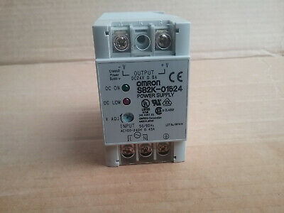 Omron - Switching Power Supply S82k-01524 Power Supply 100~240Vac  Dc24v  0.8A