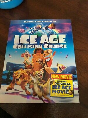 Ice Age: Collision Course (Blu-ray/DVD, 2-Disc Set) ... INCLUDES SLIPCOVER