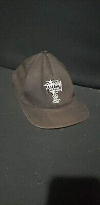 56345e678 STUSSY NEW YORK Snapback Sample Box Logo World Tour Japan Rare Vtg ...
