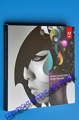 Upgrade: Adobe Creative Suite 6 Design Standard Macintosh deutsch DVD - MwSt CS6