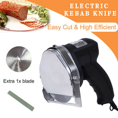 Commercial Electric Kebab Doner Cutting Tools Meat Processing Machine UK