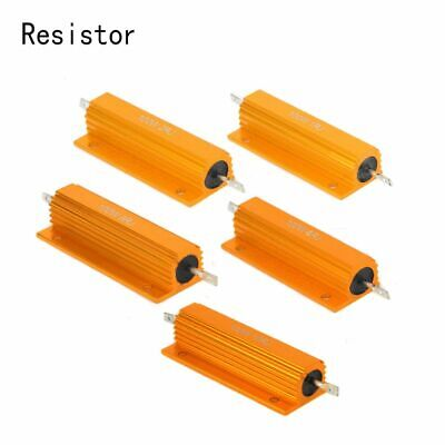 Appliance Wire Wound Resistor Shell Power Resistance Aluminum Housed Case