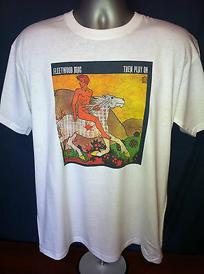 FLEETWOOD MAC THEN PLAY ON T-SHIRT Peter Green Clapton John Mayall 60s Rock
