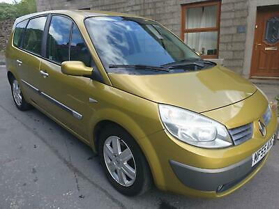 2005 Renault Grand Scenic 1.6 Dynamique 7 Seater.