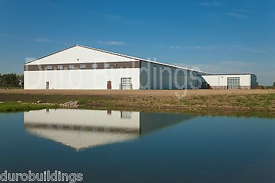 DuroBEAM Steel 100x100 Metal Rigid Frame Commercial Clear Span Building DiRECT