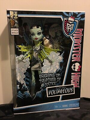 Monster High Power Ghouls Frankie Stein Voltageous Doll