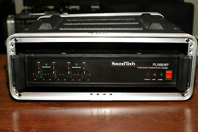 Soundtech PL1000MP Power Amplifier with Case