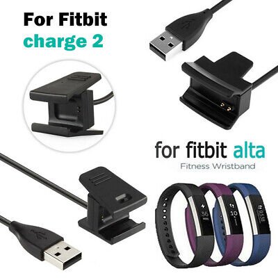 USB Charger Charging Cable Lead for Fitbit Alta/ Charge 2 Wristband Activity UK