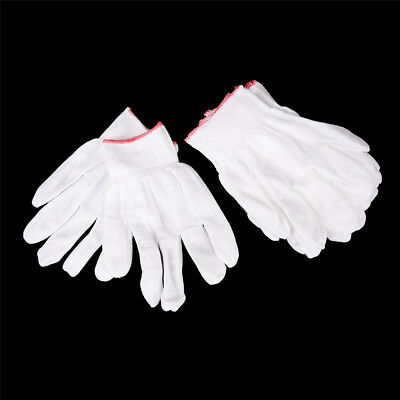 5 Pairs General Purpose White Cotton Lining Gloves Health Work t nh