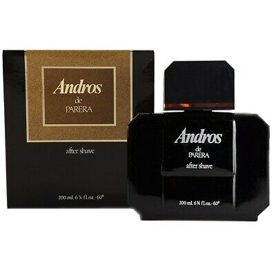 200ML Andros de Parera Fragancia Masculina Vintage Hombre As After Shave