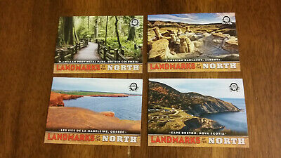 2018-19 OPC Coast To Coast  4 Card Landmarks Of The North Lot