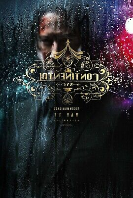 John Wick: Chapter 3 Parabellum  Movie Poster -Continental- (27x40)
