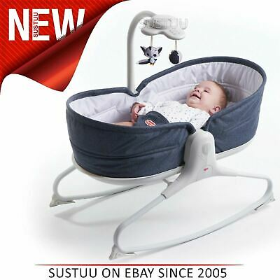 Tiny Love 3 in 1 Rocker Napper Jean¦With Light And Music