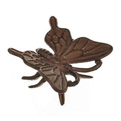Cast Iron Butterfly Wall Fence Garden Decoration Ornament