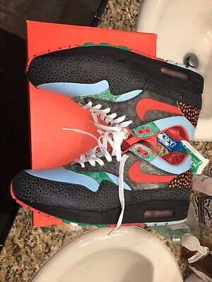 Nike Air Max 1 QS Supreme Tech Pack Kabutomushi Safari Atmos