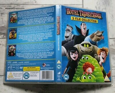 Hotel Transylvania: 3-film Collection (Box Set) Region 2 DVDS With Slipcover.