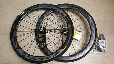 Mavic cosmic pro carbon disc road racing bike bicycle wheelset 700 new
