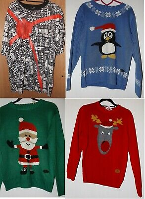20 x Wholesale Job Lot of Christmas T-Shirt and Crazy Granny Knit Jumper