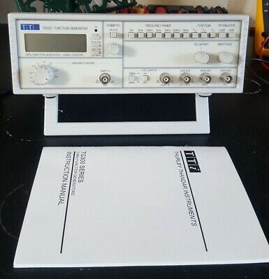 Thandar Thurlby (TTI) TG320 3MHz function generator / 120 MHz counter.