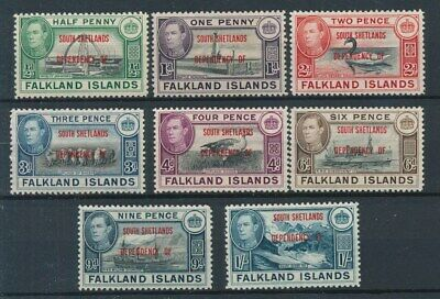 [72866] South Shetlands good set Very Fine MH stamps
