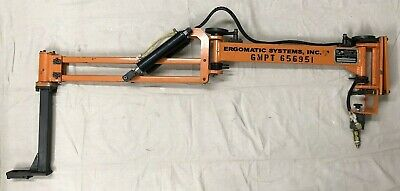 Ergomatic Pneumatic Balancer / Lift Assist - Articulating Arm GMPT 656951